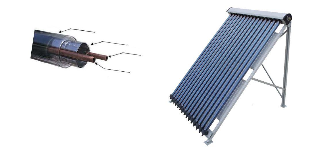 Sonnenkollektor SolarCool - Ein Panel für etwa 20 kW Kälteleistung
