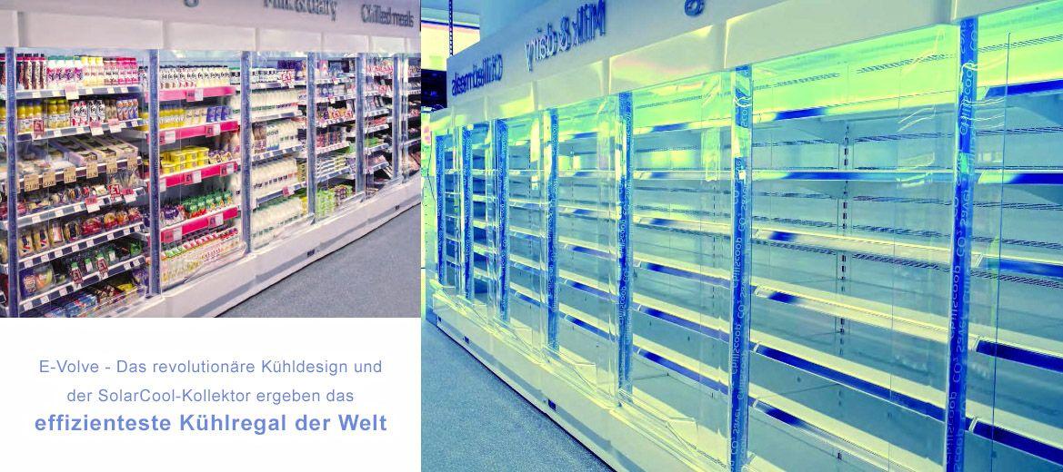 Solare Kühlung von Lebensmitteln und Getränken
